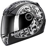 Scorpion EXO-400 Helmet Skull Bucket Black