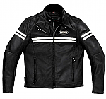 Spidi JK Leather Jacket Black / Ice