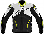 Alpinestars Atem Perforated Leather Jacket White / Black / Yellow