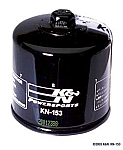 K&N High Performance Oil Filter KN-153