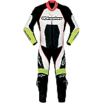 Alpinestars Carver 1 Piece Suit Black / White / Yellow