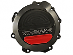 Woodcraft Kawasaki ZX10R 11+ LHS Stator Cover Assembly, Black Anodized W/Choice of Skid Plate