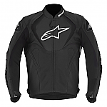 Alpinestars Jaws Leather Jacket Black