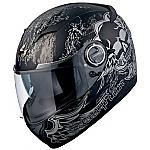 Scorpion EXO-500 Helmet Skull Matte Black