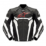 Alpinestars Celer Leather Jacket Black / White