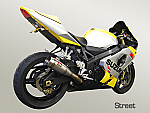 Competition Werkes Slip-On Exhaust 04-05 GSXR600, 04-05 GSXR750