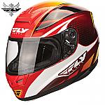 Fly Racing Paradigm Helmet Red / Yellow