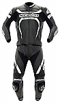 Alpinestars Motegi 2 Piece Suit Black / White