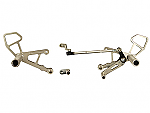 Woodcraft Aprilia Tuono 02-05, Mille/MilleR 98-03 Rearsets, GP Shift w/shifter