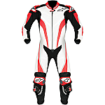 Alpinestars Race Replica 1 Piece Leather Suit White / Red