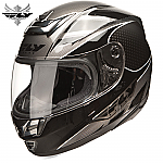 Fly Racing Paradigm Helmet Black / Silver