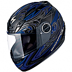 Scorpion EXO-400 Helmet Synergy Blue
