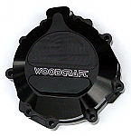 Woodcraft Kawasaki ZX6R 07+ LHS Stator Cover Assbly Blk W/Gasket + Skid Plate Kit Choice