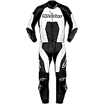 Alpinestars Carver 2 Piece Suit Black / White