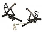 Woodcraft Kawasaki Ninja 650R 06-08 Complete Rearset Kit W/Shift & Brake Pedals