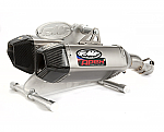 FMF Apex Slip-On Exhaust 07 ZX14 Ti/CF