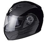 Scorpion EXO-500 Helmet Solid Black