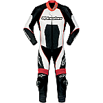 Alpinestars Carver 1 Piece Suit Black / White / Red