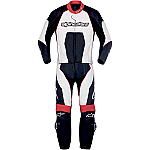 Alpinestars Carver 2 Piece Suit Black / White / Red
