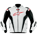 Alpinestars GP Tech Leather Jacket White / Black / Red