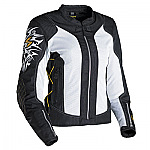 Scorpion ExoWear Ladies Nip Tuck Jacket White / Gold