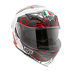 AGV Horizon Absolute White Red