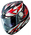 Scorpion EXO-1100 Helmet Street Demon Red