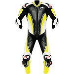 Alpinestars Race Replica 1 Piece Leather Suit Black / Yellow / White