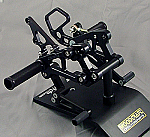 Woodcraft Honda CBR600RR 07-11 Complete Rearset Kit W/Shift & Brake Pedals