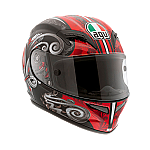 AGV Grid Stigma Black Red