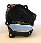 Woodcraft Kawasaki ZX6RR/636 03-06 RHS Ignition Trigger Cover Assbly Black W/Gasket + Skid Plate Kit Choice