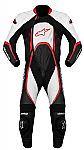 Alpinestars Orbiter 1 Piece Suit Black / White / Red