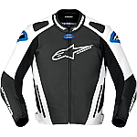 Alpinestars GP Pro Leather Jacket Black / White / Blue