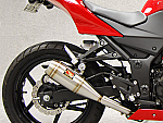 Competition Werkes Slip-On Exhaust 08-12 250R Ninja