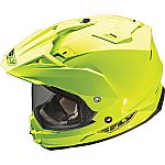 Fly Racing Trekker Helmet Hi-Viz Yellow