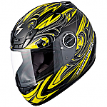 Scorpion EXO-400 Helmet Synergy Yellow