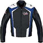 Alpinestars MotoGP Leather Jacket Blue