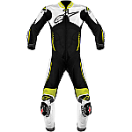 Alpinestars Atem 1 Piece Leather Suit Black / White / Yellow