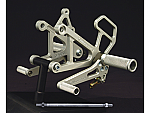 Woodcraft Kawasaki ZX6RR/636 03-04 Complete Rearset Kit W/Shift & Brake Pedals