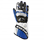 Spidi Race-Vent Gloves White / Blue / Black