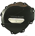 Woodcraft Honda CBR1000RR 08-09 LHS Stator Cover Black W/Skid Plate Kit Choice (use semi-dry liquid gasket/160H)