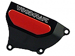 Woodcraft Honda CBR1000RR 08+ RHS Clutch Cvr Protector Assbly Black W-1/2 spacer + Skid Plate Kit Choice