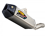 FMF Apex Slip-On Exhaust 08-10 ZX6R Ti/CF