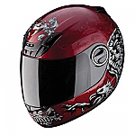 Scorpion EXO-400 Helmet Rapture Red