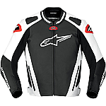 Alpinestars GP Pro Leather Jacket Black / White / Red