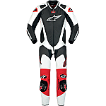 Alpinestars GP Pro 1 Piece Suit Black / White / Red
