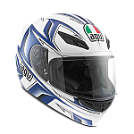AGV K4 EVO Arrow White Blue