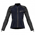 Alpinestars Renee Leather and Textile Jacket Blue / Black
