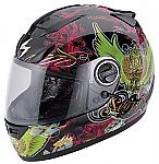 Scorpion EXO-750 Helmet Kingdom Black/Green