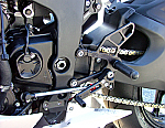 Woodcraft Kawasaki ZX6R 09-11 Rearset Kit Complete W/Brake & Shift Pedals